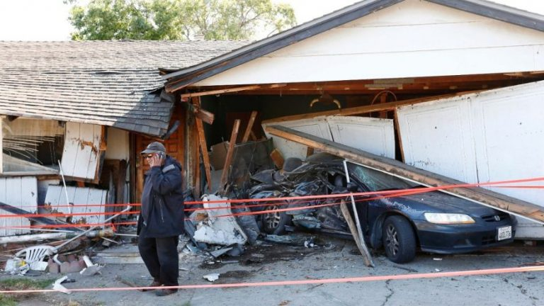 Homeowner says 19 vehicles have crashed into his house since 1960