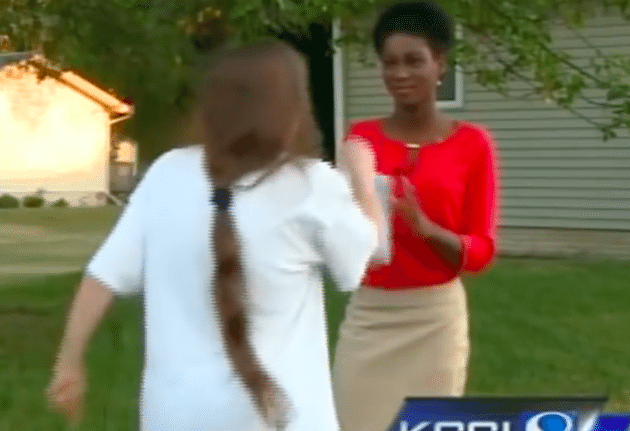 Black Reporter Keeps Her Cool During Racist Attack Caught On Camera