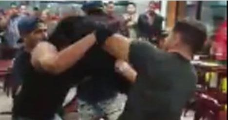 Men brawl over $5 chips and salsa bowl