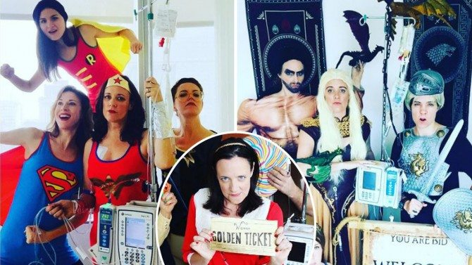 Cancer Patient Wears Different Costume For Every Chemo Session: 'I Have Laughed Big Happy Laughs'
