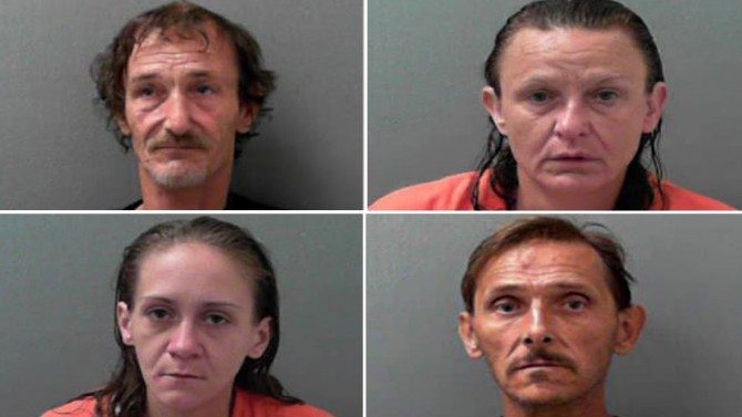 Baby Boy Found in Car Soaked in Urine as Mom, 3 Others Shoot Up Heroin