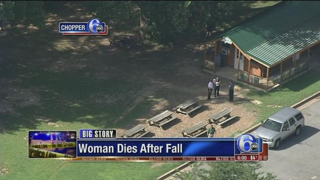 Woman killed in fall from zip line at state park in Delaware