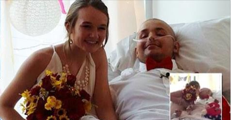 Teen Battling Cancer Marries His Sweetheart in Hospital Ceremony, Days After Waking From Coma
