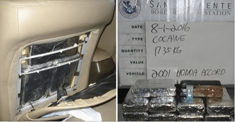 Half a Million Dollars Worth of Cocaine Found Inside Car Driven by Mom With 2 Kids