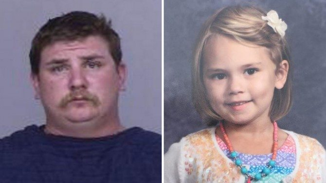 5 Year Old Girl Kidnapped and Murdered by Father's Co-Worker Who Was Staying With Her Family