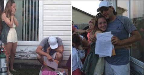18-Year-Old Asks Mom's Boyfriend to Adopt Her at Graduation Party