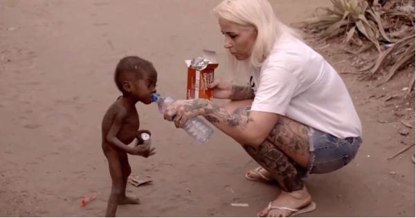 Remember This Starving Nigerian Kid? See How He Looks Now