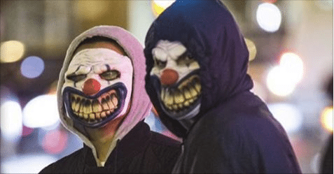 Students Go Hunting for Clowns as Reports of Creepy Sightings on the Rise