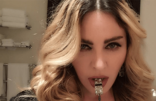 MADONNA: 'IF YOU VOTE FOR HILLARY CLINTON, I WILL GIVE YOU A BLOWJ*B'