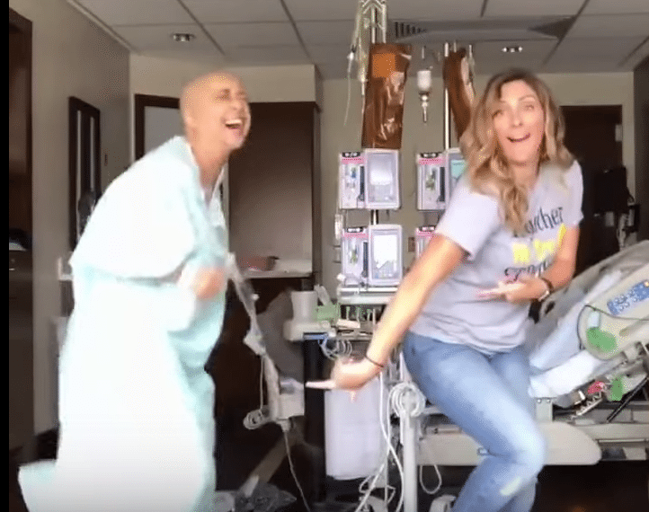 Dallas cancer patient dances in viral video 'Juju on that chemo'
