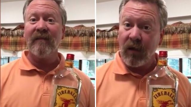 This is how a dad responds when he found an empty whiskey bottle in daughter's drawer