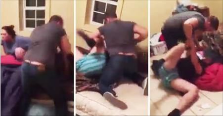 Dude Comes Home from Work to Find His Wife in Bed with Another Man