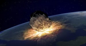 A doomsday asteroid will hit Earth next month and trigger devastating mega-tsunamis
