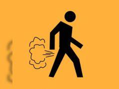 smelling fart