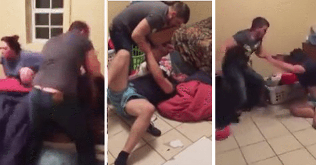 Husband Comes Home to Find Wife in Bed with Another Man and All Hell Broke Loose