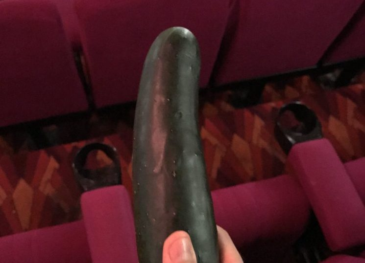 Cinema usher finds cucumber after screening of Fifty Shades Darker