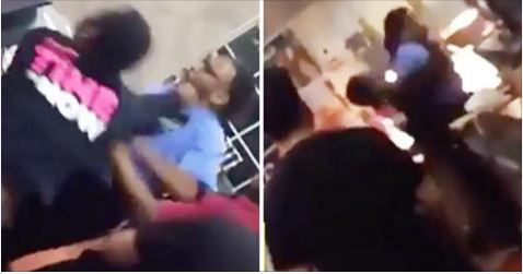 McDonald's Employee Punches His Manager In Face Twice Before Taking Him Down By The Fryer
