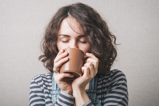 Drinking coffee keeps you alive