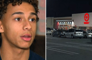 Teen confronts pervert at target