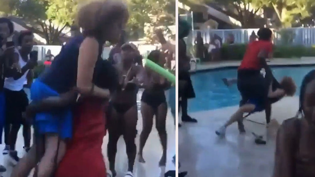 Teenager Who Slammed The Old Lady At The Pool