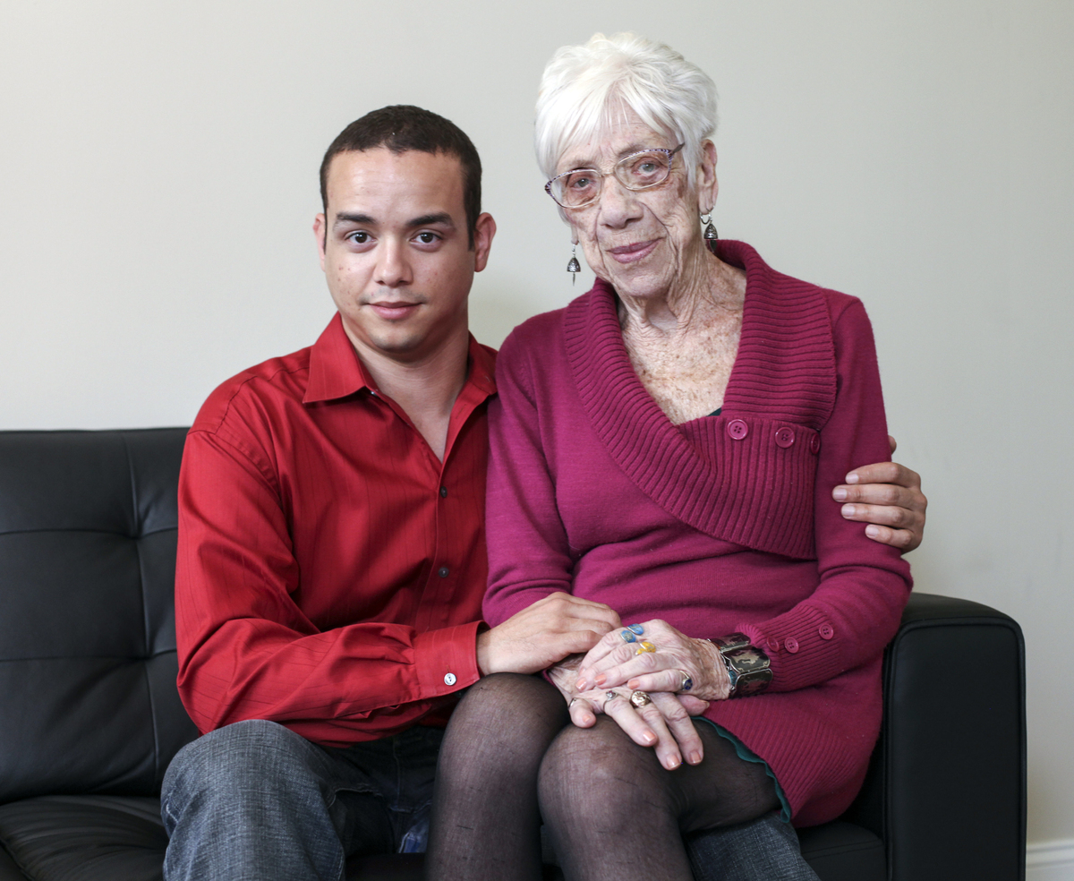 This 31-Year-Old Guy Is Dating A 91-Year-Old Grandmother