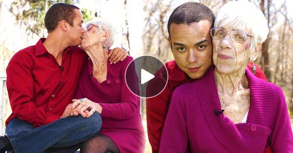 This 31-Year-Old Guy Is Dating A 91-Year-Old Grandmother, Proving Age Doesn't Matter