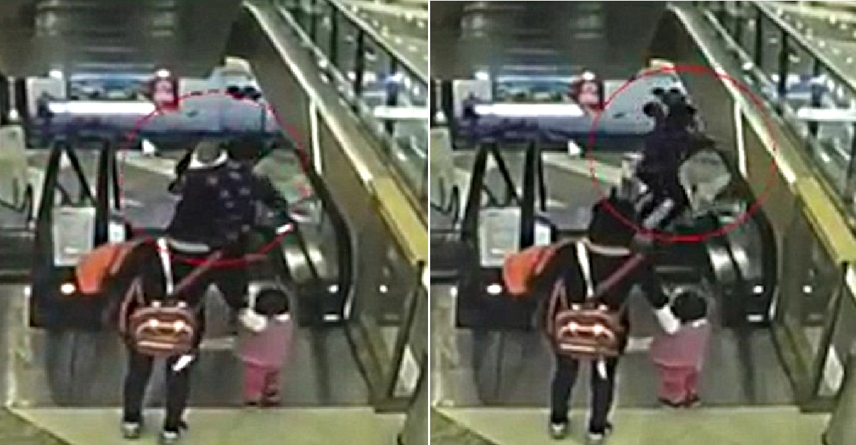 Baby Falls to His Death From 3rd Floor, After Grandmother Trips on Escalator