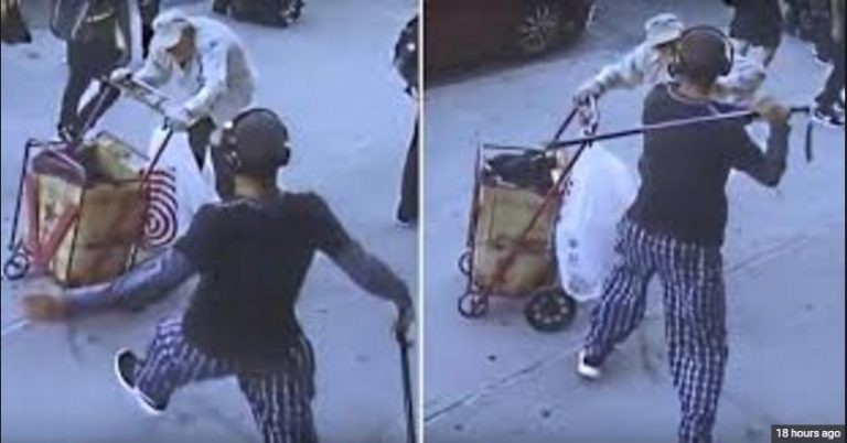 Teen Hits 90-Year-Old Man in the Head With a Cane for No Reason Whatsoever