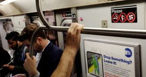 Subway rider wakes up to man peeing on her face