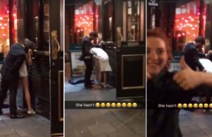 drunk couple having sex in london