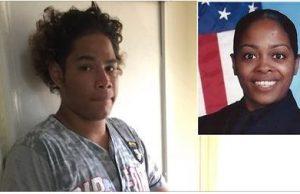 teen blasts police