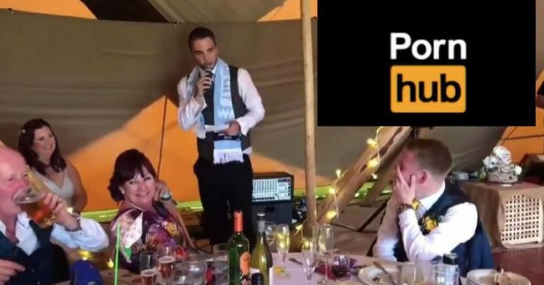 Best Man Trolls Groom By Reading His PornHub Search History During Wedding Speech