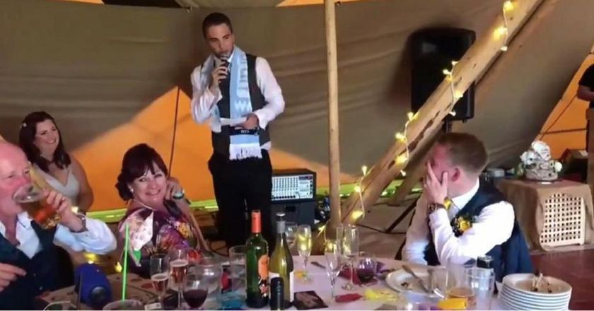 Best Man Trolls Groom