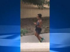 jogger pooping at a house